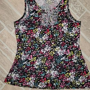 3 for $10 Floral Tank